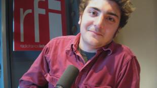 Rafael Alterio en RFI.
