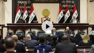 伊拉克议会周日通过决议案要求政府终结美国等外国在伊拉克驻军