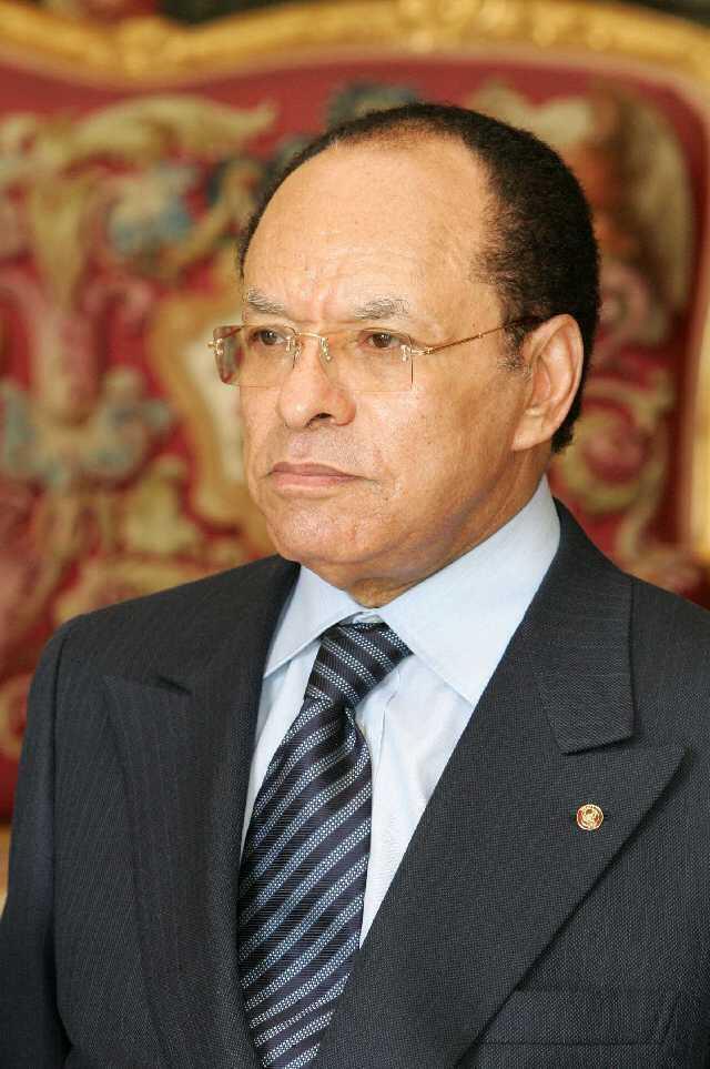 Spika wa Bunge la Seneti DRC Léon Kengo Wa Dondo.