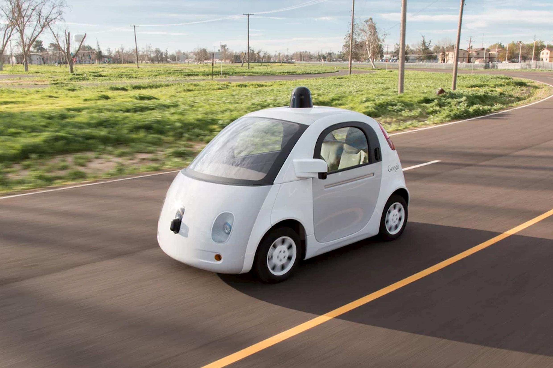 Foto do Google Car, divulgada pela empresa em 15 de março de 2015