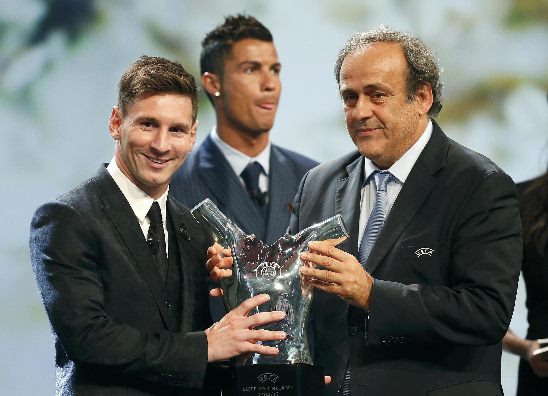 Lionel Messi na Argentina ya karbe kambun gwarzon Turai daga hannun Cristiano Ronaldo na Portugal