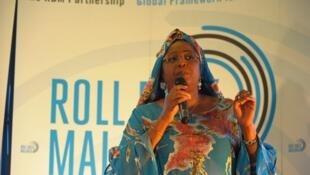 Le Pr Awa Marie Coll-Seck, responsable du partenariat Roll Back Malaria/Faire Reculer le Paludisme, souligne que l'Afrique regroupe 90% des décès dus au paludisme.