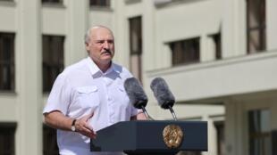 Pour les eurodéputés, l'UE doit revoir ses relations avec le président biélorusse Alexandre Loukachenko (image d'illustration)
