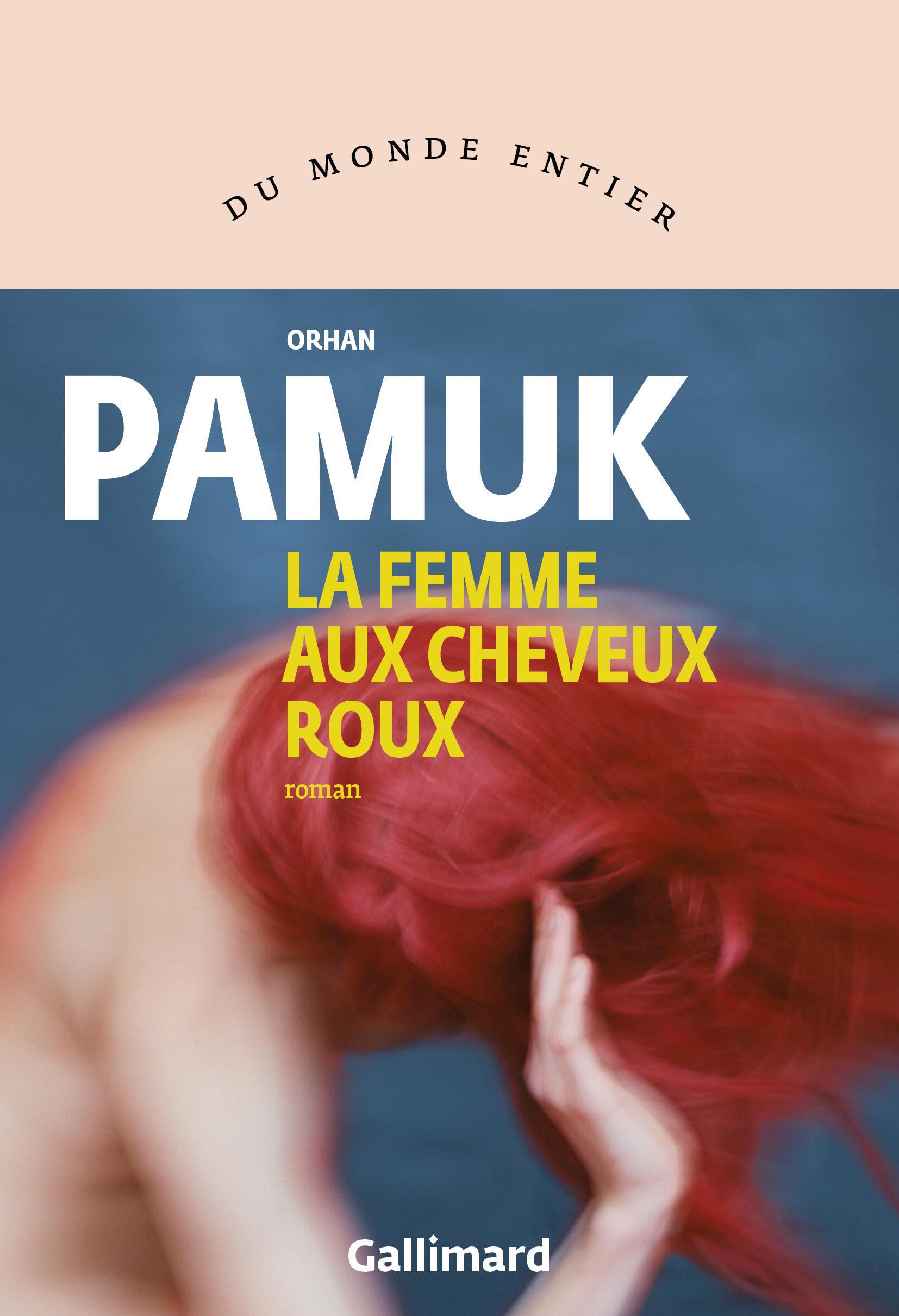 Couverture française du nouveau roman de l'écrivain turc