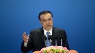 Le Premier ministre chinois Li Keqiang, photographié le 16 janvier 2016 à Pékin.