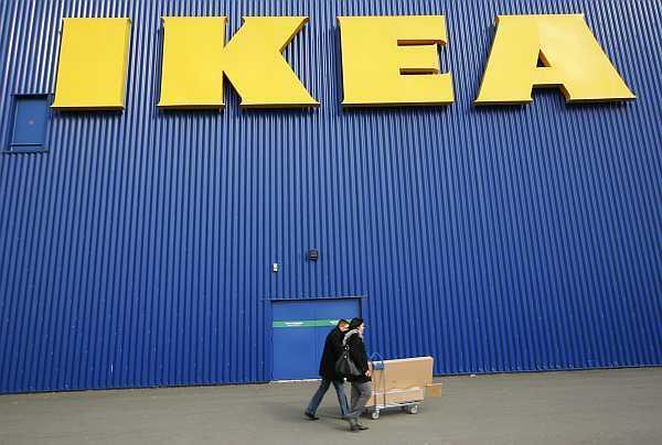 An IKEA superstore in Bordeaux, southwestern France