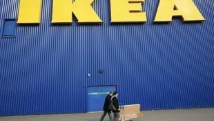 A rede Ikea conta com 33 lojas e 10 mil funcionários na França.
