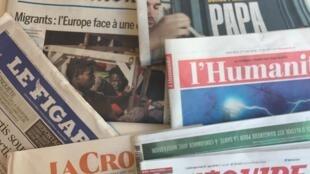 Primeiras páginas dos jornais franceses de 27 de junho de 2018