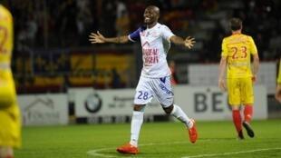 Christian Bekamenga sous les couleurs de Troyes.