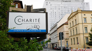 Bệnh viện đại học Charité ở Berlin, nơi chữa trị nhà đối lập Nga Alexei Navaly. Ảnh ngày 22/08/2020.