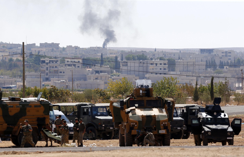 Hali ya mambo katika eneo la Kobane mpakani mwa Syria na Uturuki