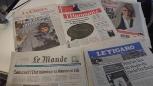 Diários franceses 24.04.2018