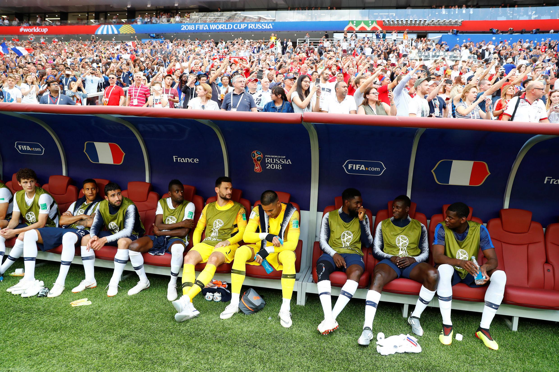 Cúp bóng đá thế giới 2018 - bảng C: Đan Mạch gặp Pháp, tại sân vận động Luzhniki Stadium, Matxcơva, Nga, ngày 26/06/2018