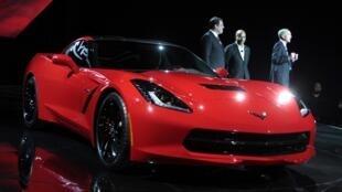 El último modelo de Chevrolet Corvette será presentado en el Salón del Automóvil de Detroit.
