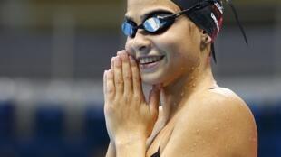 La télévision publique hongroise a passé sous silence la victoire en série de Yusra Mardini, membre de l'équipe olympique des réfugiés, samedi sur 100m papillon.