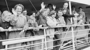 Trong số những người di dân đến Úc năm 1954, có rất nhiều trẻ em. Ảnh tư liệu.