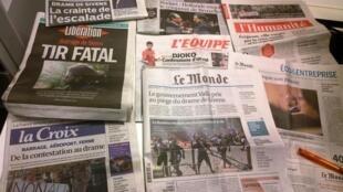 Diários franceses 29/10/2014