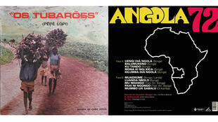 Os Tubaroes 1976 (Os Tubaroes) et Bonga 72 (Bonga).