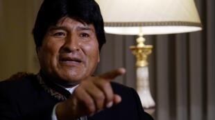 Una encuesta independiente del pasado mes de noviembre mostró que la popularidad de Evo Morales repuntó hasta llegar a un 59%.