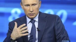 Presidente russo, Vladimir Putin, respondeu hoje a questões enviadas pela população.