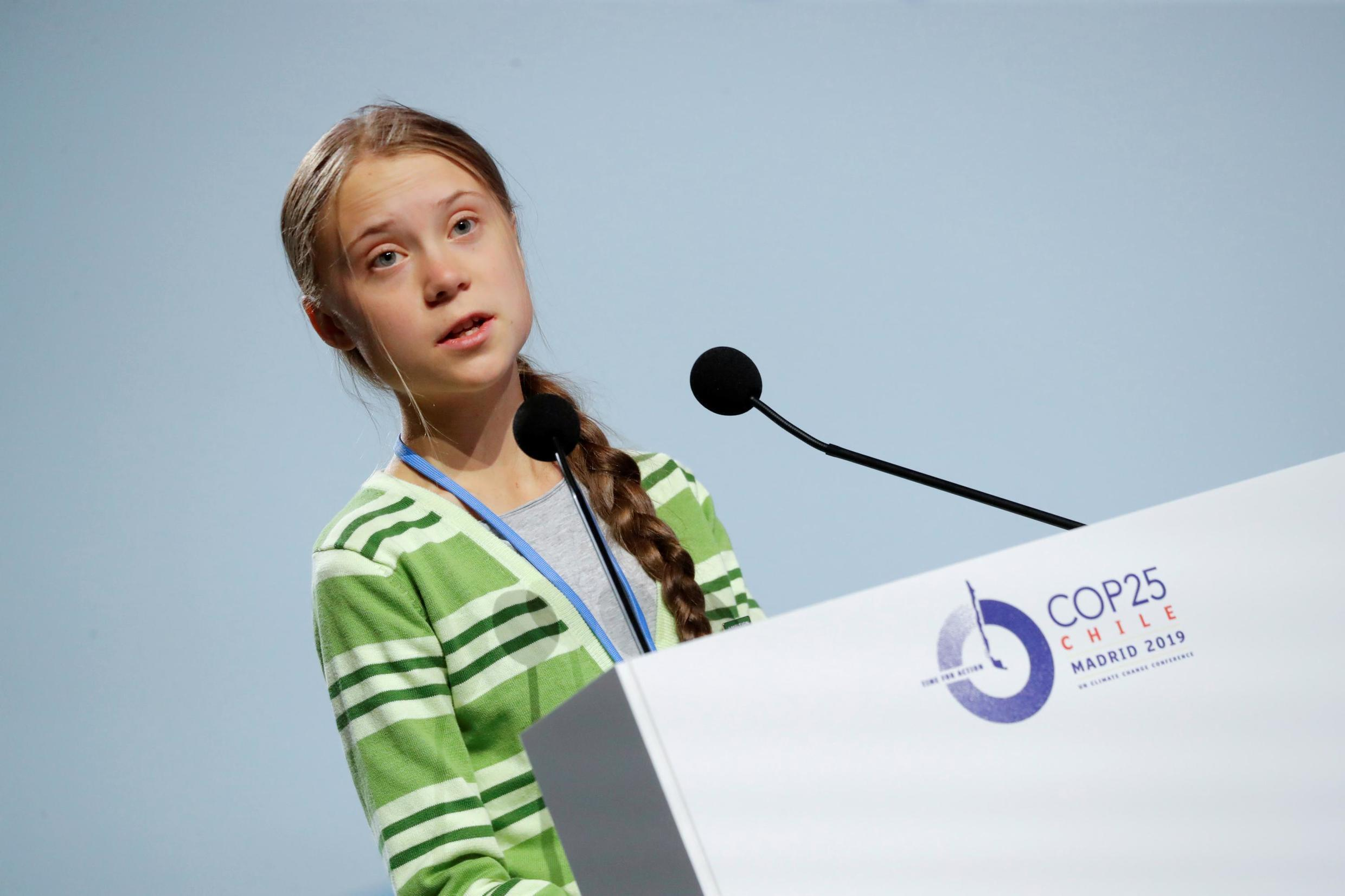Teenage climate activist Greta Thunberg was among those left disappointed by the outcome of climate talks in Madrid.