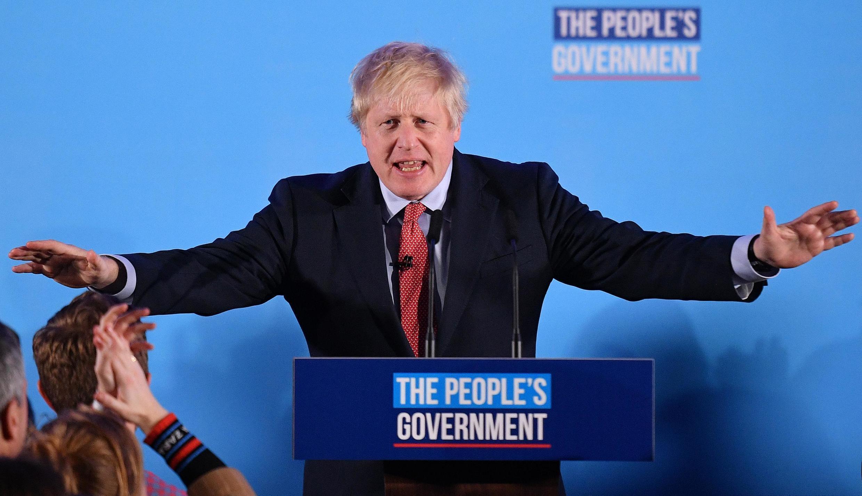 Le parti de Boris Johnson a remporté une victoire indiscutable lors des législatives du 12 décembre 2019.
