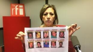 María Márquez de Favela recherche son fils disparu il y a six ans à Ciudad Juárez au Mexique, elle a reçu le prix ACAT Engel-du Tertre des droits de l'Homme.