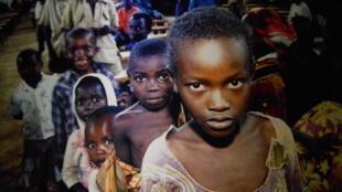 Фотография в музее геноцида в Руанде