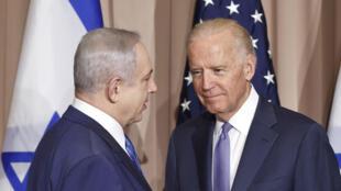 PHOTO Netanyahu-Biden - 21 janvier 2016