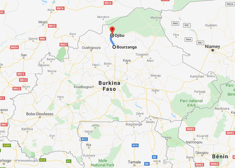 «La route Bourzanga - Djibo est une voie rouge», s'insurge un habitant de Djibo.