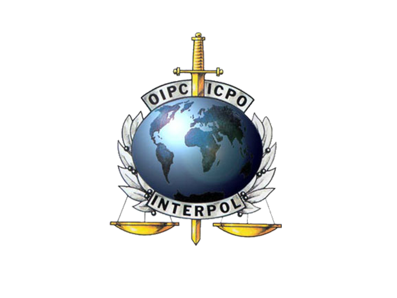 Logo da Interpol.