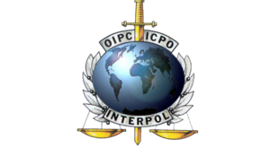 Logo da Interpol.