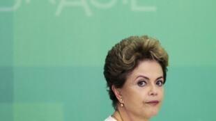 Dilma Rousseff, la presidenta brasileña.