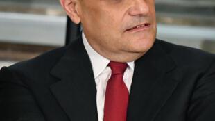 Le ministre de la Culture italien Alberto Bonisoli.