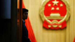 中國人大會堂入口處 2008年3月13日