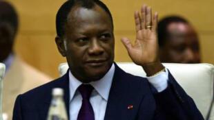 rais wa Cote d'ivoire Allasane Dramane Ouattara