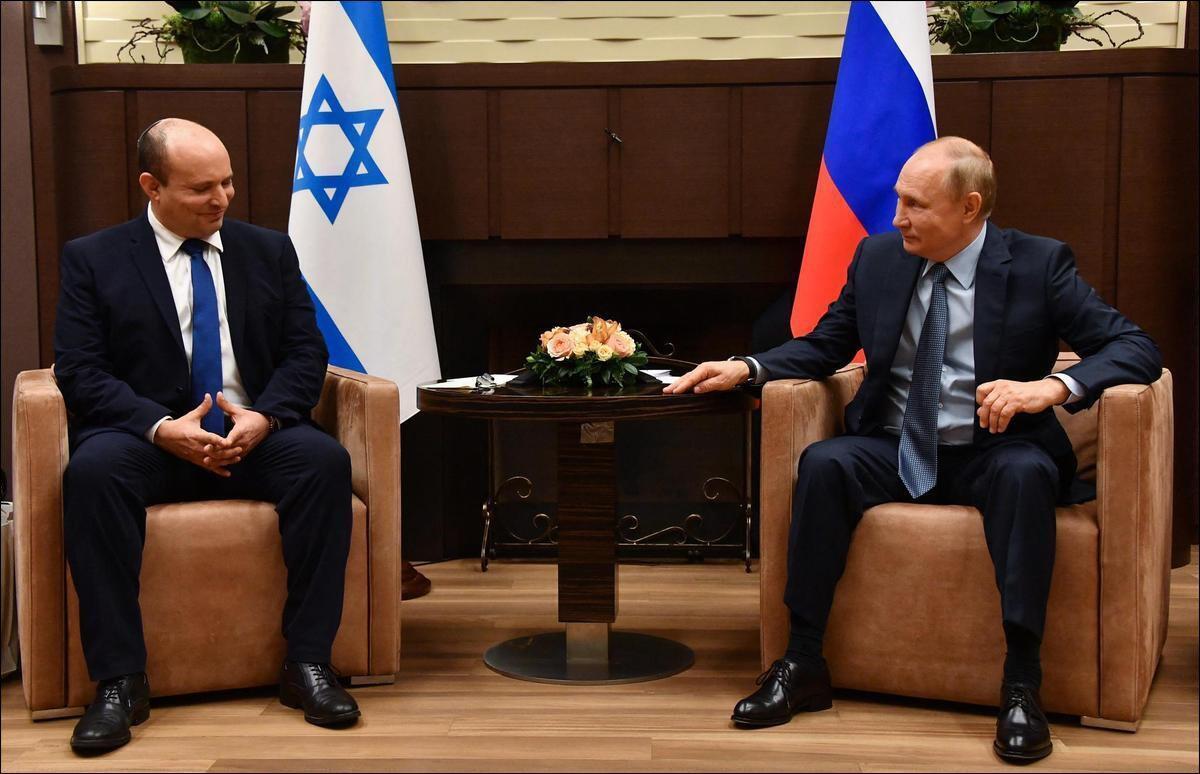 Premiers pourparlers entre Bennett et Poutine