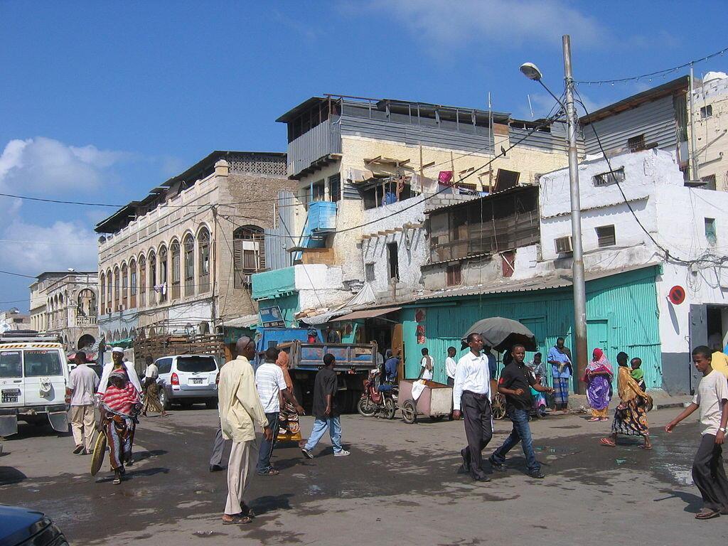 Une rue de Djibouti (photo d'illustration).