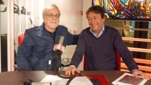 Jorge Orellana y Jordi Batallé en RFI