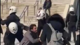 Grèce-Athènes-violences policières