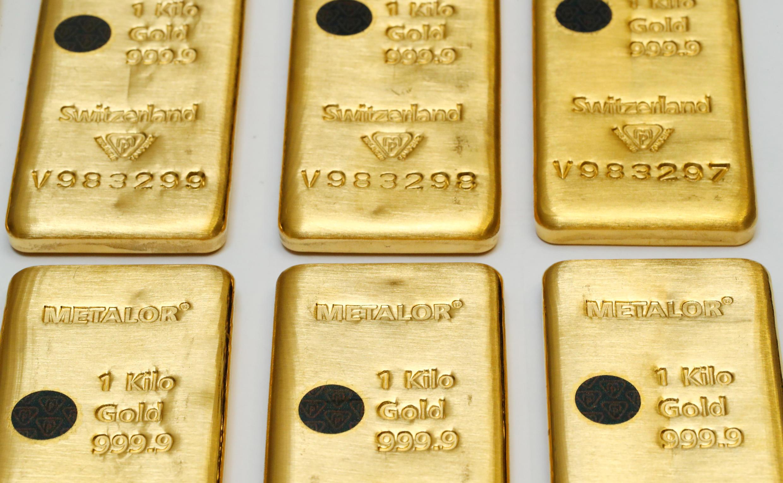 Lingots d'or - Suisse - Neuchatel