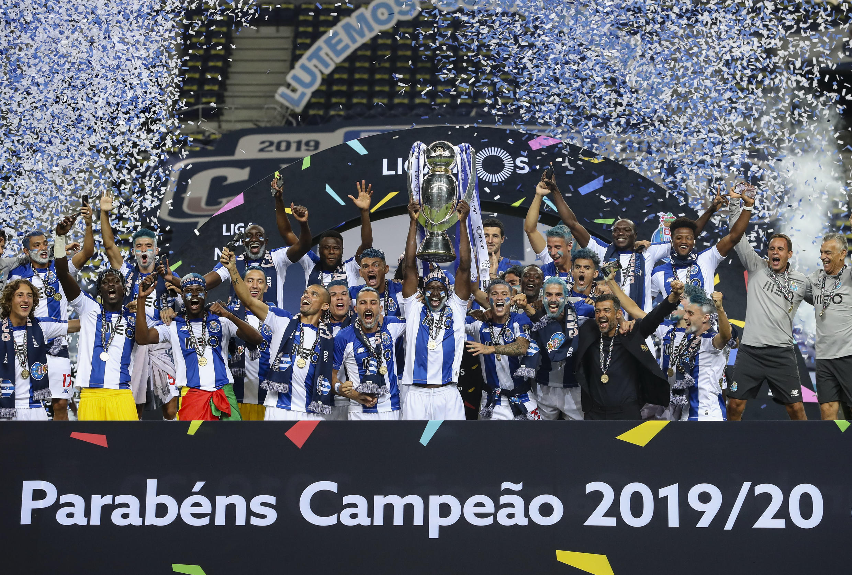 FC Porto sagrou-se Campeão em Portugal.