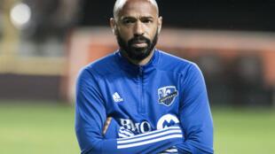 Thierry Henry, entonces entrenador del Impact Montreal, el 18 de febrero de 2020 en San José de Costa Rica