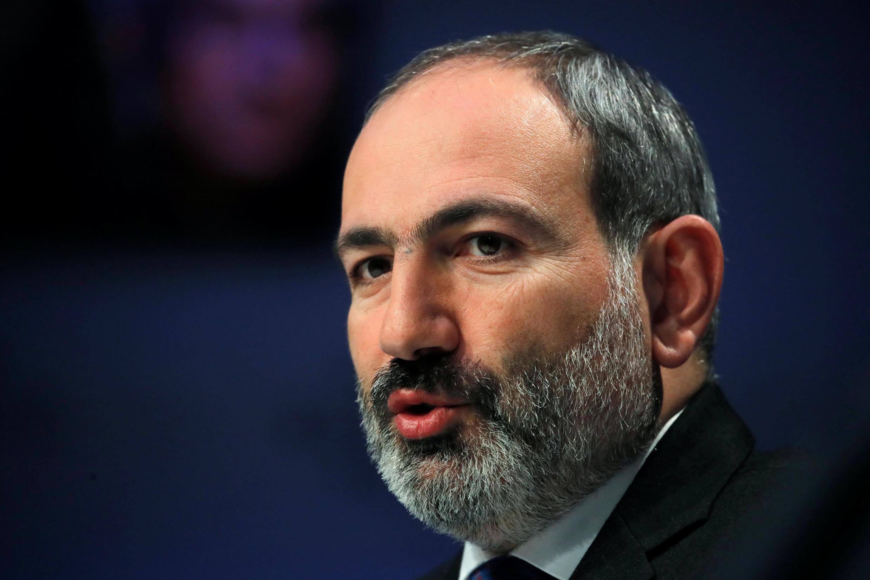 Премьер-министр Армении Никол Пашинян 23 января 2019.