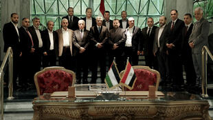 PHOTO Fatah et Hamas au Caire - 12 octobre 2017