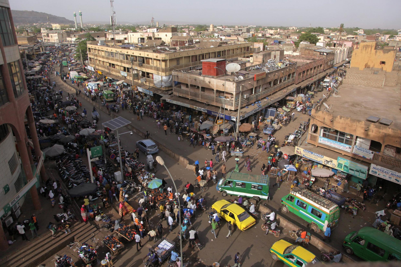 Vue du centre-ville de la capitale malienne, Bamako (image d'illustration).