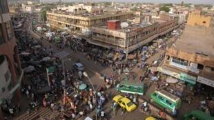 Vue du centre-ville de la capitale malienne, Bamako. (image d'illustration)
