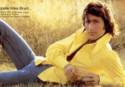 Ca sĩ qúa cố Mike Brant (DR)