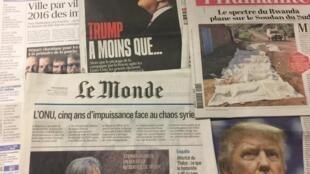 Capas dos diários de 19/12/2016