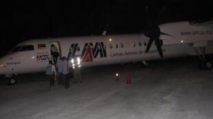 Avião das Linhas aéreas moçambicanas